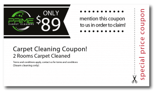 2 rooms carpet cleaning coupon