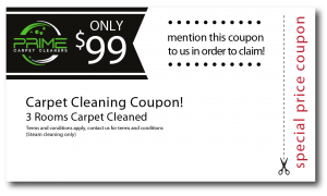 3 rooms carpet cleaning coupon
