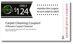 4 Rooms Carpet Cleaning Coupon